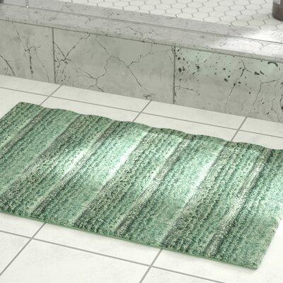 Middlefield Microfiber Bath Rug Color: Seaglass, Size: 32 H x 20 W
