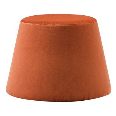 Monteleone Ottoman Upholstery: Orange