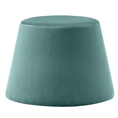 Monteleone Pouf Upholstery: Turquoise
