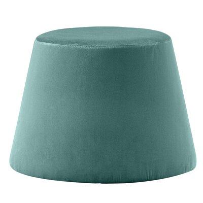 Monteleone Pouf Upholstery: Turquoise