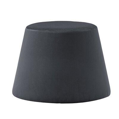 Monteleone Ottoman Upholstery: Dark Gray
