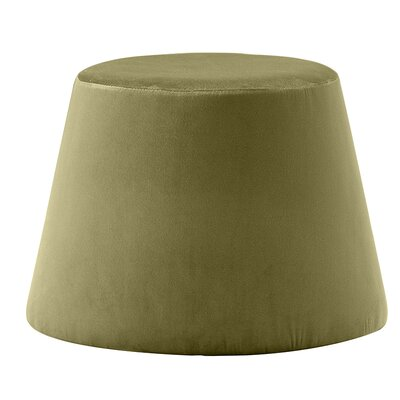 Monteleone Pouf Upholstery: Olive Green