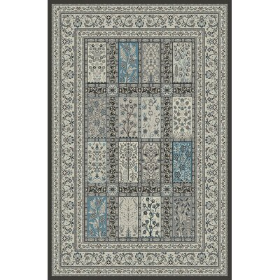Walton Gray Area Rug Rug Size: Rectangle 8 x 92