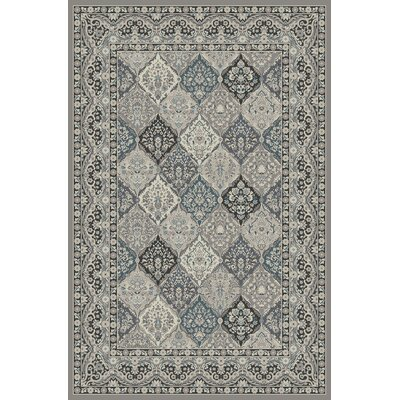 Heideman Gray Area Rug Rug Size: Rectangle 710 x 910