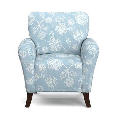 Westley Armchair Upholstery: Blue Floral