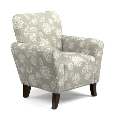 Westley Armchair Upholstery: Taupe Floral