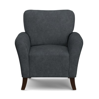 Westley Armchair Upholstery: Charcoal Blue/Gray