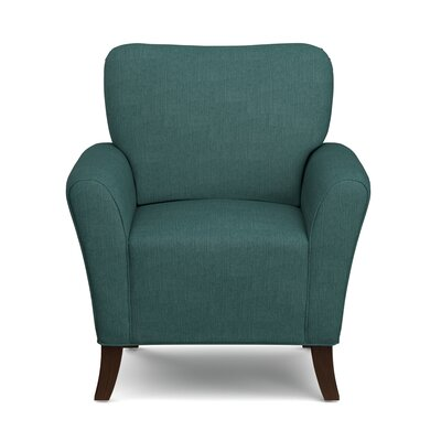 Westley Armchair Upholstery: Peacock Blue