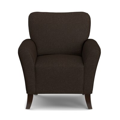Westley Armchair Upholstery: Chocolate Brown