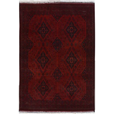 One-of-a-Kind Maestas Hand-Knotted Wool Red Area Rug