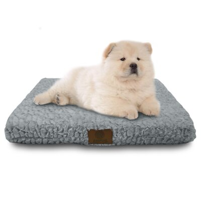 Orthopedic Dog Pad Size: Medium (22 W x 30 D x 3 H), Color: Gray