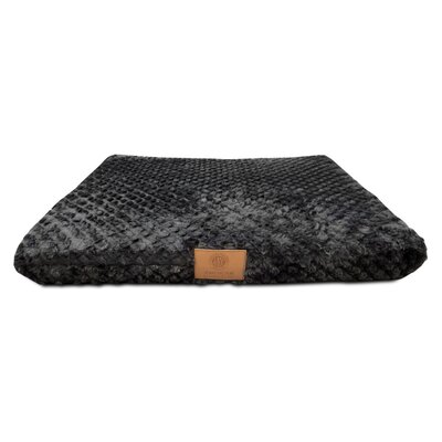 Orthopedic Dog Pad Size: Medium (22 W x 30 D x 3 H), Color: Black