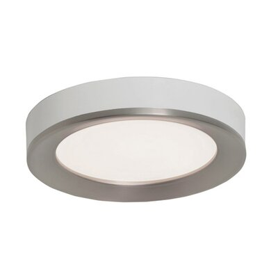 Seaborn Flush Mount Fixture Finish: Satin Nickel
