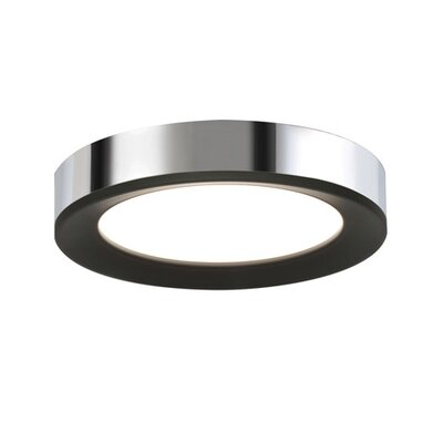 Seaborn Flush Mount Fixture Finish: Chrome