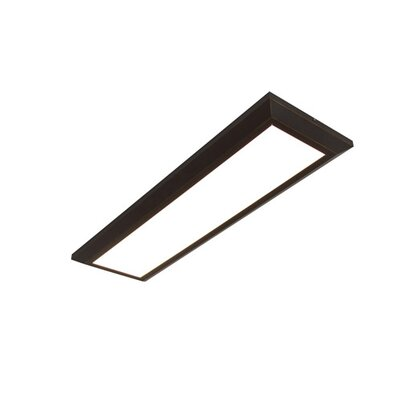 Lovato LED Flush Mount Fixture Finish: Oil Rubbed Bronze