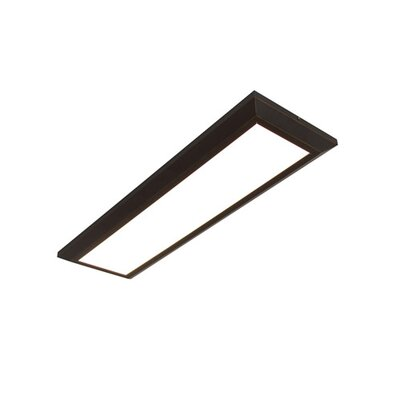 Lovato Flush Mount Fixture Finish: Oil Rubbed Bronze