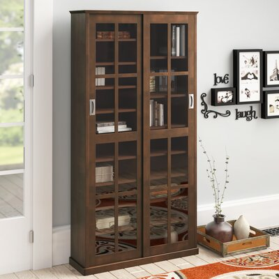 Jones Multimedia Cabinet Color: Walnut