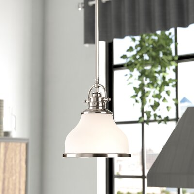 Attles 1-Light Mini Pendant Finish: Brushed Nickle