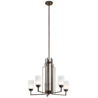 Zazueta 5-Light Candle-Style Chandelier