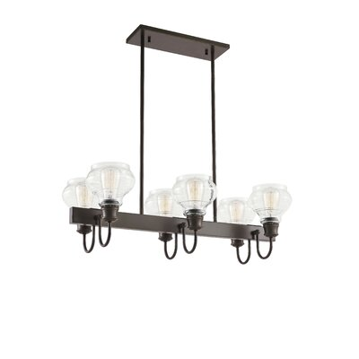 Dahms Linear 6-Light Kitchen Island Pendant