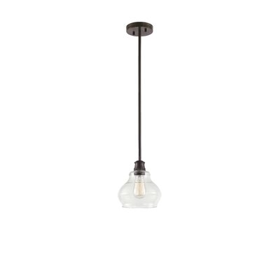Dahms 1-Light Mini Pendant Finish: Oil Rubbed Bronze
