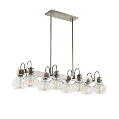 Dahms Linear 8-Light Kitchen Island Pendant
