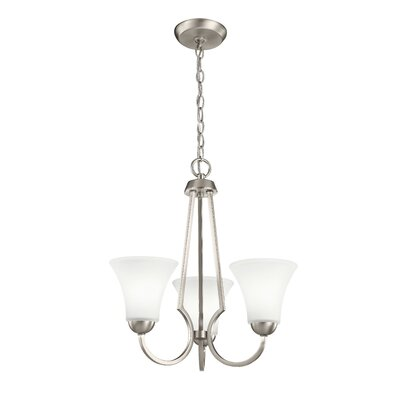 Durrant Transitional 3-Light Mini Chandelier