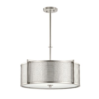 Pelfrey 4-Light Drum Pendant