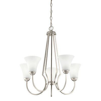 Durrant Transitional 5-Light Candle-Style Chandelier