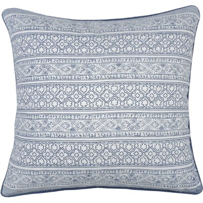 Spring II Jaipur Cotton Throw Pillow Color: Cobalt