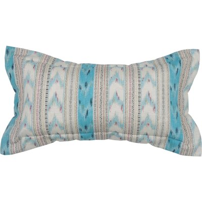 Spring II Bohemia Stripe Cotton Throw Pillow