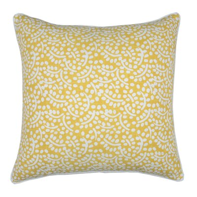 Spring II Eucalyptus Cotton Throw Pillow Color: Bamboo