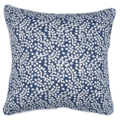 Spring II Eucalyptus Cotton Throw Pillow Color: Cobalt