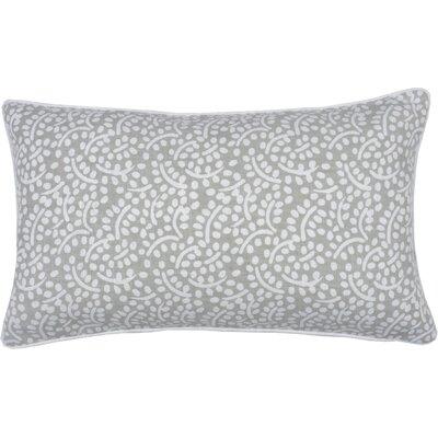 Spring II Eucalyptus Cotton Throw Pillow Color: Pebble