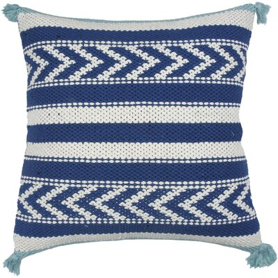 Spring II Riviera Cotton Throw Pillow Color: Cobalt