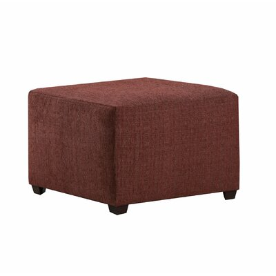 Hentz Ottoman Upholstery: Red