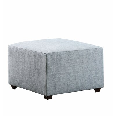 Hentz Cube Ottoman Upholstery: Green