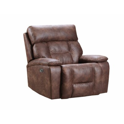 Pledger Rocker Recliner Reclining Type: Power