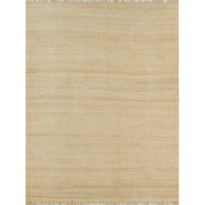 Hand-Woven Bleached Area Rug Rug Size: Rectangle 76 x 96