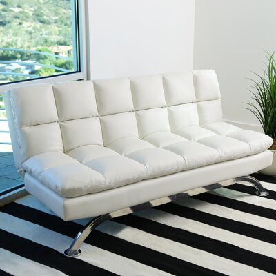 Romans Euro Lounger Convertible Set Color: White