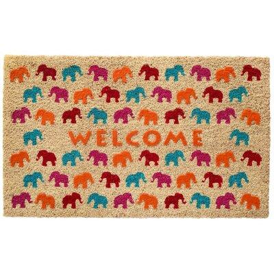 Elephant Herd Doormat