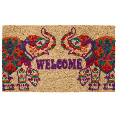 Elephant Welcome Doormat
