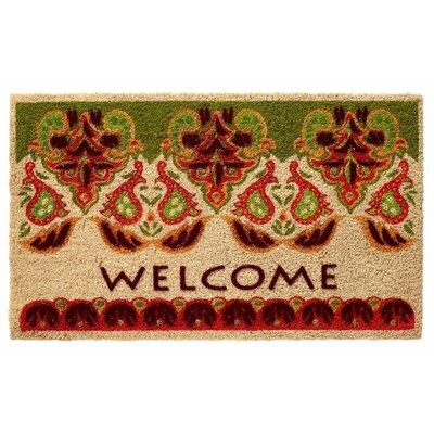Taj Welcome Doormat