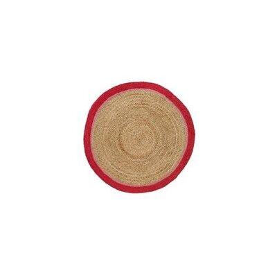 Ava Hand Braided Brown Area Rug