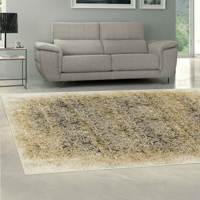 Icenhour Camel/Brown Area Rug Size: Rectangle 8 x 10
