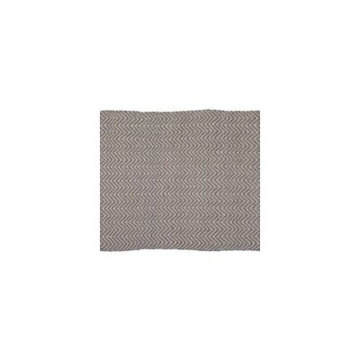 Herringbone Hand-Woven Beige/Gray Indoor/Outdoor Area Rug