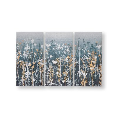 'Wildflower Meadow' Graphic Art Print Multi-Piece Image on Canvas