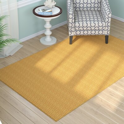 Waverly Honey Area Rug Rug Size: 6 x 9