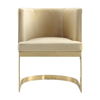 Larry Upholstered Dining Chair Upholstery: Sand