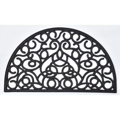 Outdoor Half Round Rubber Doormat